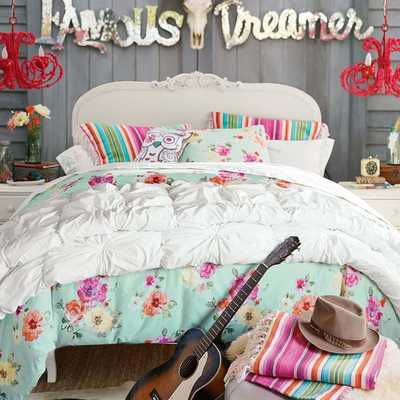 Junk Gypsy Country Blooms Duvet Cover - Pottery Barn Teen