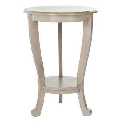 Safavieh Cape Cod Grey Pedestal Side Table - Overstock