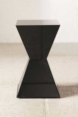 Abigail Glass Side Table-Black - Urban Outfitters