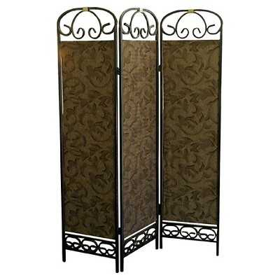 Ore 3-Panel Room Divider - Antique Gold - Target