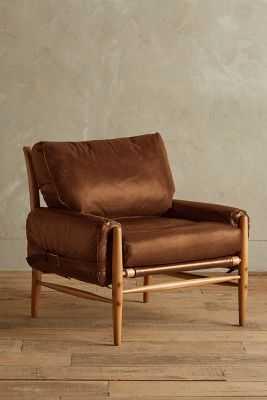Premium Leather Rhys Chair - Anthropologie