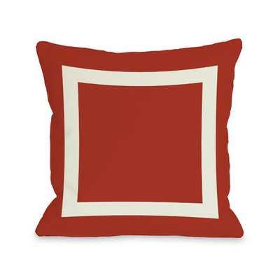 Throw Pillow - Red - AllModern