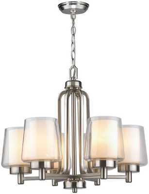 RYDEL 6-LIGHT CHANDELIER - Home Decorators