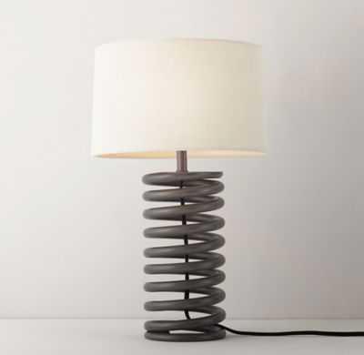 INDUSTRIAL SPRING LAMP BASE - RH Teen