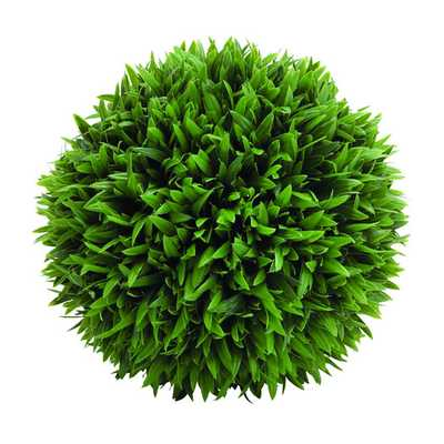 Amazingly Styled Plastic Grass Ball Sculpture - AllModern