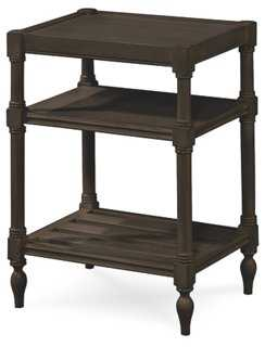 Summer Hill Chair Side Table, Black - One Kings Lane