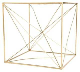 "8"" Geometric Table Sculpture - One Kings Lane"