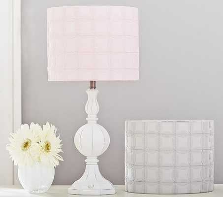 Graphic Applique Drum Shade - Pottery Barn Kids