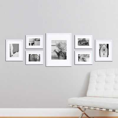 Gallery Perfect 7-piece Frame Set, White - Kohl's