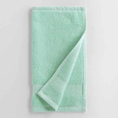 Aqua Mist Washcloths Set of 2 - World Market/Cost Plus