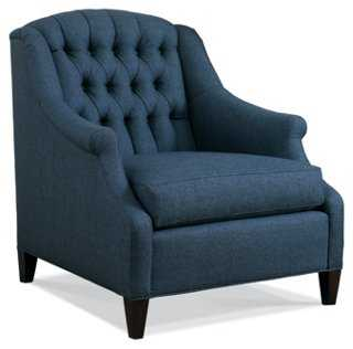 Jeanie Tufted Chair - One Kings Lane