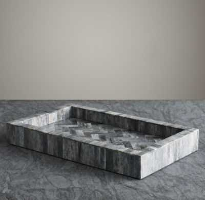 BONE GREY TRAY - RH