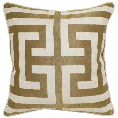 Capital Bronze Pillow - 22W x 22D - No Insert - High Fashion Home