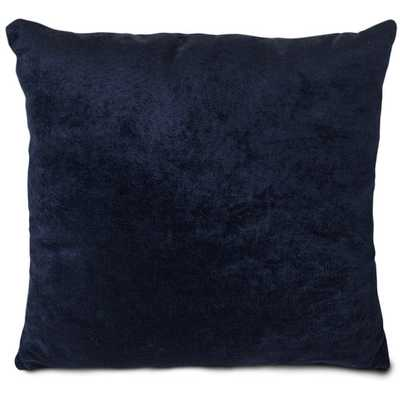 "Villa Throw Pillow, 20""sq., navy - AllModern"