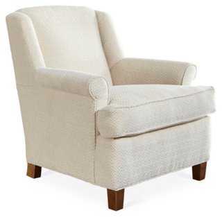Avalon Club Chair, Natural - One Kings Lane