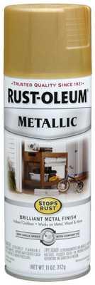 Rust-Oleum 7270830 Metallic Spray, Gold Rush, 11-Ounce - Amazon