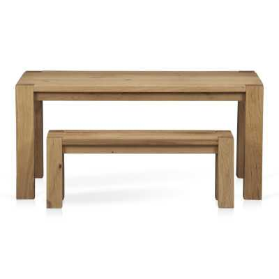 Big Sur Natural Dining Table - Crate and Barrel