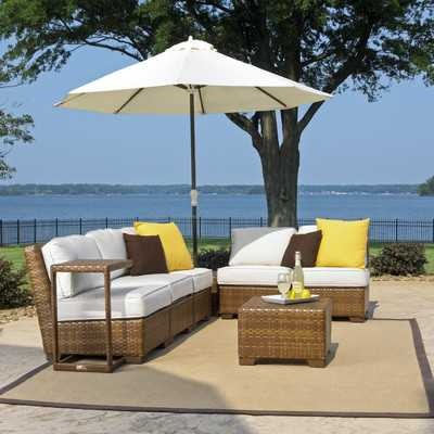 St Barths 8 Piece Deep Seating Group with Cushion-Set - Wayfair