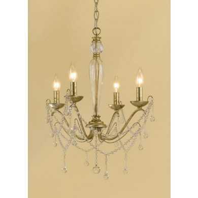 AF LIGHTING 7005-4H ELEMENTS MINI CHANDELIER - lightingcity.com