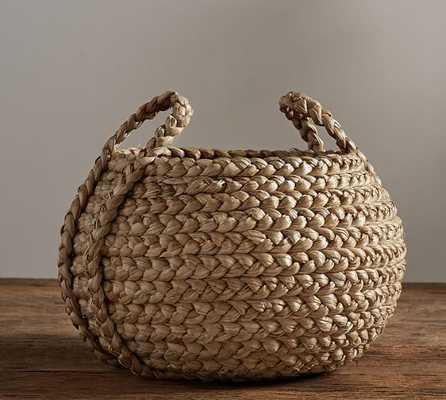 Beachcomber Round Handled Basket - Pottery Barn