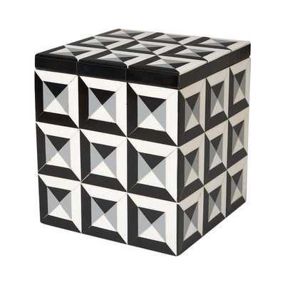 Deco Border Storage Boxby DwellStudio - Wayfair