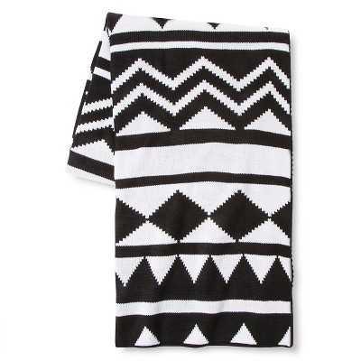 Tribal Knit Throw - Target