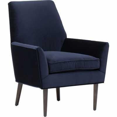 Ezra Chair, Vernon Navy - High Fashion Home