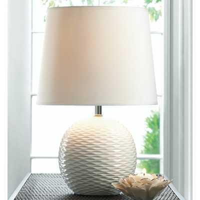 """Fairfax 16.38"""" H Table Lamp with Empire Shade - Wayfair"""