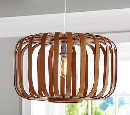 Wooden Cage Pendant - Pottery Barn Kids