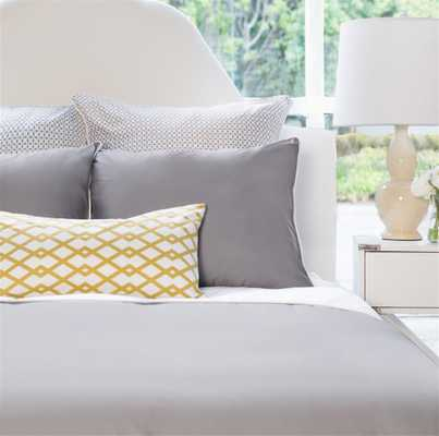 The Hayes Nova Grey Duvet - King - Crane & Canopy