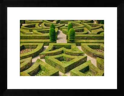 Formal hedged garden of Villandry Castle. - Photos.com by Getty Images