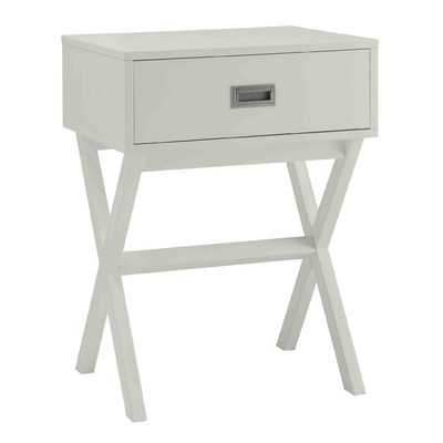 Kathleen End Table - White - Wayfair
