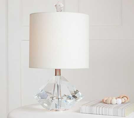 Diamond Gem Complete Lamp - Pottery Barn Kids