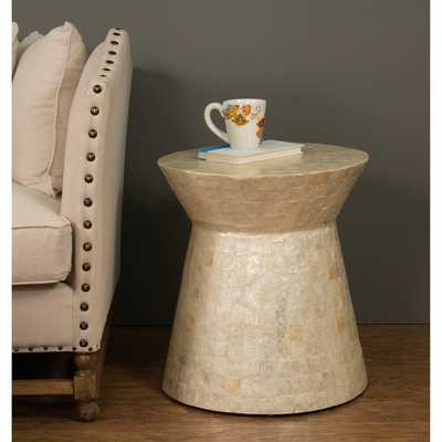Decorative Selma Modern Off-White Specialty Accent Table - Overstock