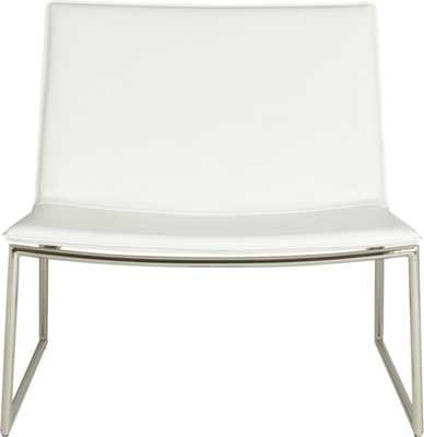 Triumph chalk lounge chair - CB2