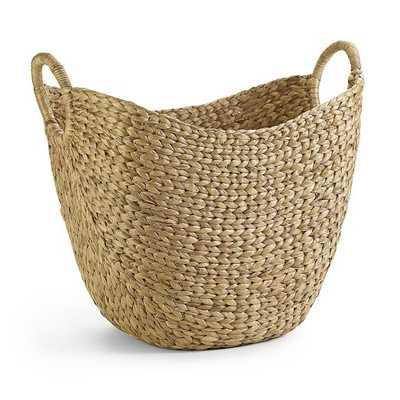 Curved Storage Basket, Large - West Elm
