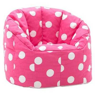 Kids Bean Bag Chair Big Joe Fun Pink - Target