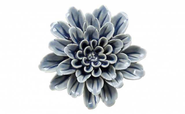 INDIGO CERAMIC FLOWERS - Jayson Home