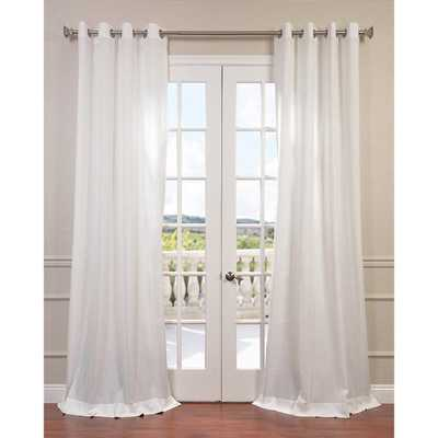 "Grommet Single Curtain Panel - Cloud - 84"" L - AllModern"