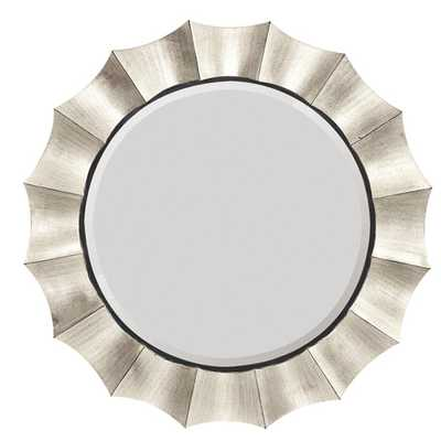 Contemporary Round Bevel Wall Mirror - AllModern