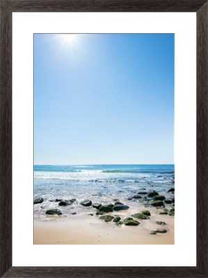 "Mossy beach rocks/22"" x 28""  Framed - Photos.com by Getty Images"