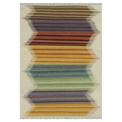 Santana Multi Stripe Rug - Wayfair