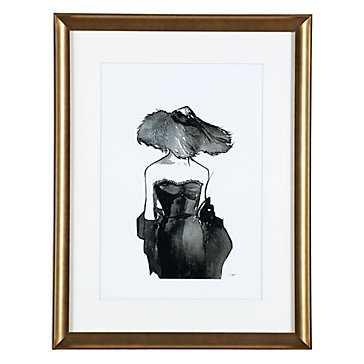 Dior Dame - 20.25''W x 26.25''H - Framed - Z Gallerie