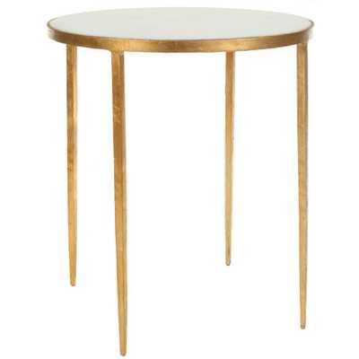 Safavieh Home Furniture Anita White Accent Table - Bellacor