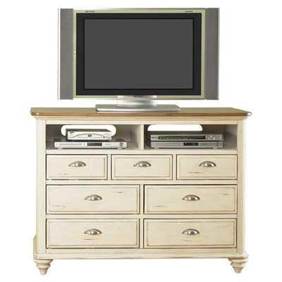 Ocean Isle 7 Media Chestby Liberty Furniture - Wayfair