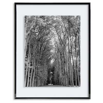 Skinny Black Gallery Float Frame - Holds up to an 8x10 photo - Target