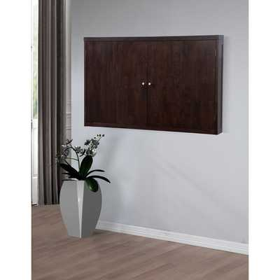 Studio Halifax Finish Wall Mount TV Cabinet - Overstock