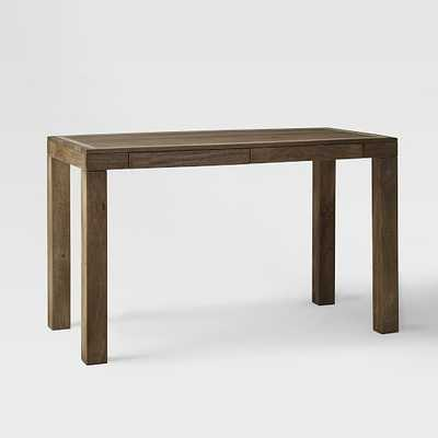 Parsons Desk with Drawer - Domino