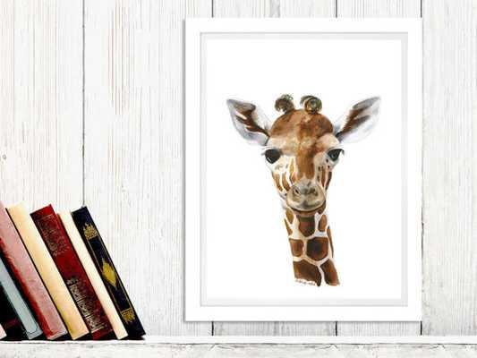 Safari Nursery Decor, unframed - Etsy