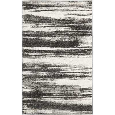 Safavieh Deco Inspired Dark Grey/ Light Grey Rug - Overstock